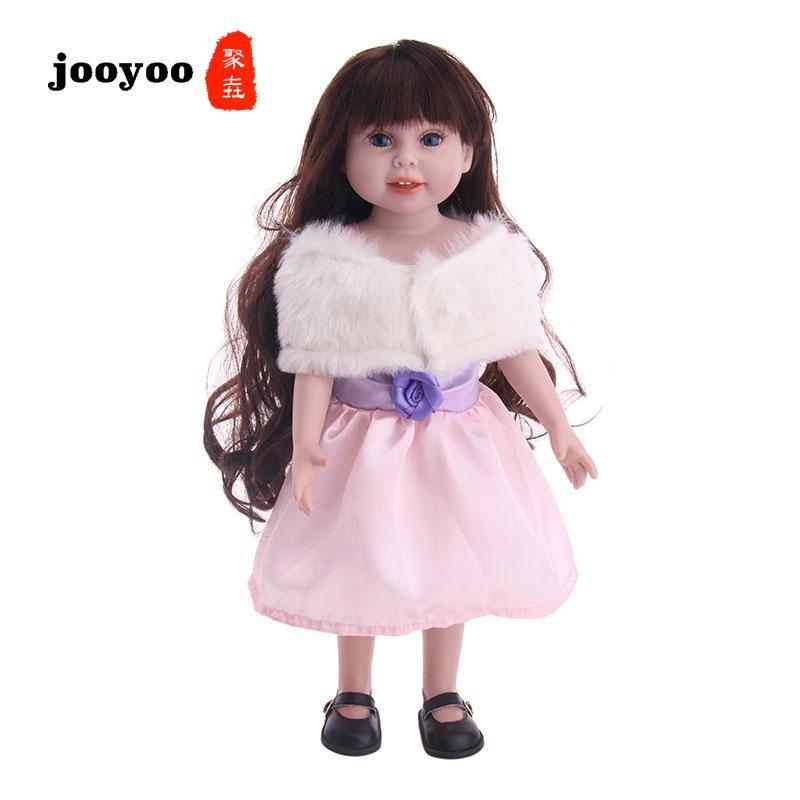 18-дюймовый американская девушка кукла одежда американская девушка кукла юбка розовый новый горячий продажа jooyoo