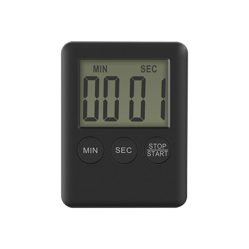 Mini LCD Display Electric Digital Kitchen Timer Loud Alarm Magnetic Backing Countdown Timer For Cooking Baking