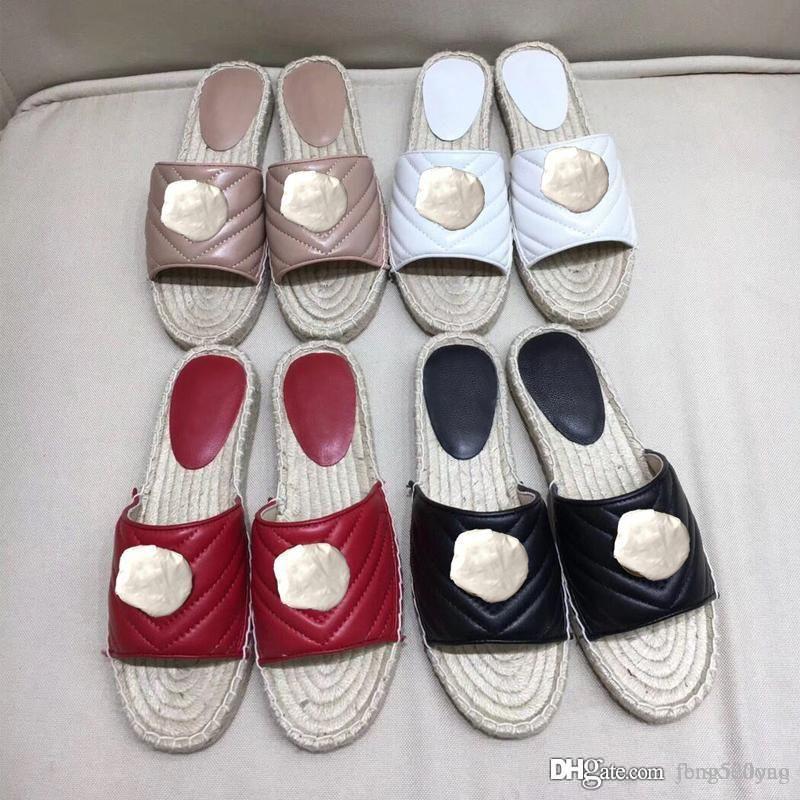 الكلاسيكية الجلود كارتون كبير رئيس النعال النعال مصمم منتجات جديدة امرأة الأحذية التوى معدنية سميكة القاع صياد أحذية الشاطئ النعال