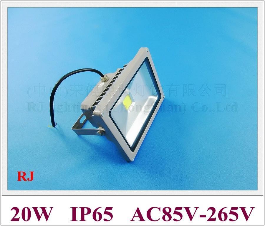 Lampe d'inondation à haute puissance à LED 20W LED LED LED Lampe d'inondation de lumière extérieure 20W AC85-265V 1400LM Prix usine et de qualité Livraison gratuite