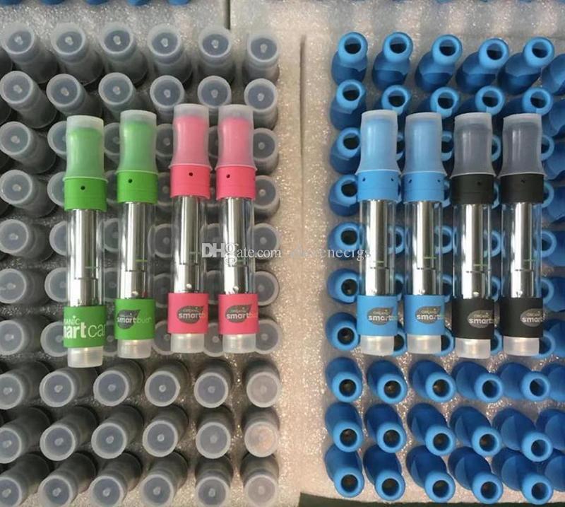 НОВЫЕ SmartBud Тележки керамические катушки Картриджи TH105 TH205 510 густое масло Атомайзеры 0,8 мл 1,0 мл Смарт Телеги