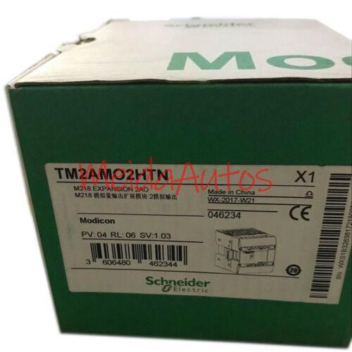 الجديد في مربع شنايدر TM2AMO2HTN 2 نقطة الناتج التناظرية PLC واحدة ضمان لمدة سنة