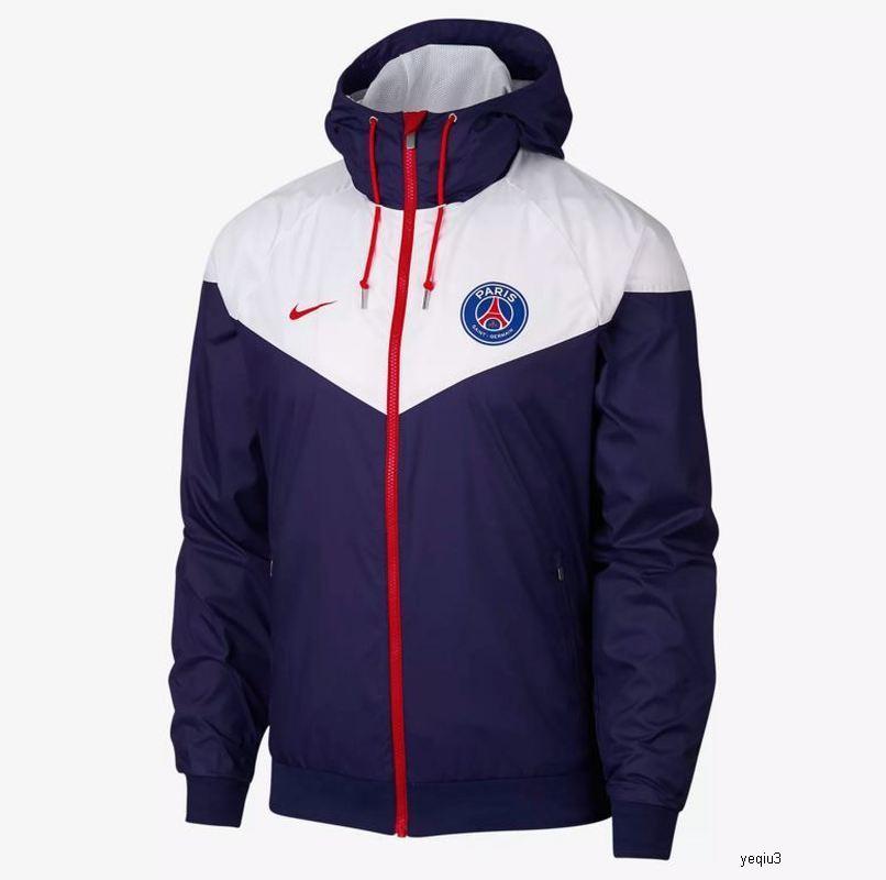 nike NIKE NK maschile giacca designer di marca degli uomini Donne Windbreaker club di calcio della squadra di alta Giubbotti Cappotti Moda Zipper Sportswear