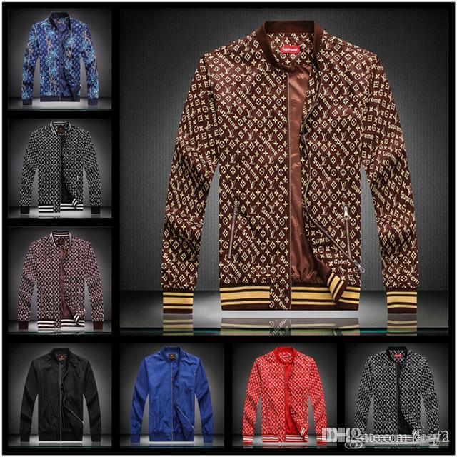 20sw OUTONO INVERNO 2020 e novo luxo Medusa MEN blusão casaco homens casuais esportes JAQUETA jaqueta com zíper LISY
