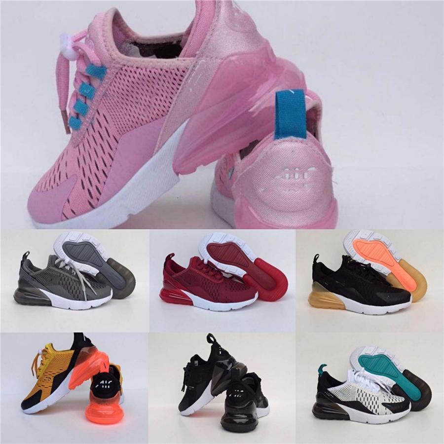 2020 Cojín 2,0 zapatillas deportivas para niños infantil Rosa Rojo niños muchachas del muchacho Tn blanca Triple Negro del niño que recorre las zapatillas de deporte 24-35 # 722