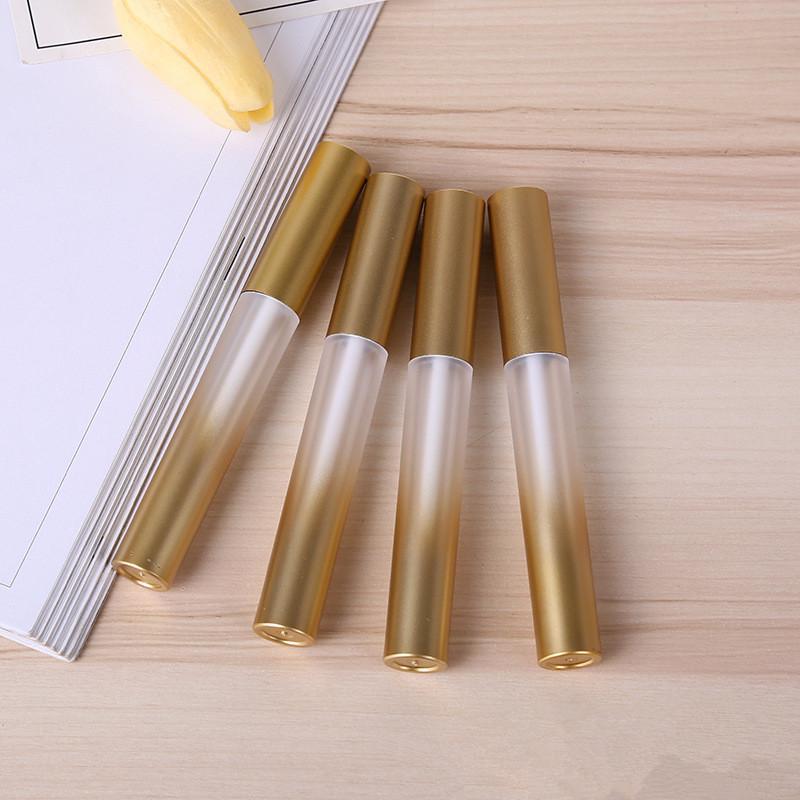 Sıcak Gradyan Altın Likit Eyeliner Kirpik Büyüme Serum Doldurulabilir Şişe 200pcs kadar Boş Plastik Dudak Dolgunlaştırıcı Tüp Make / lot