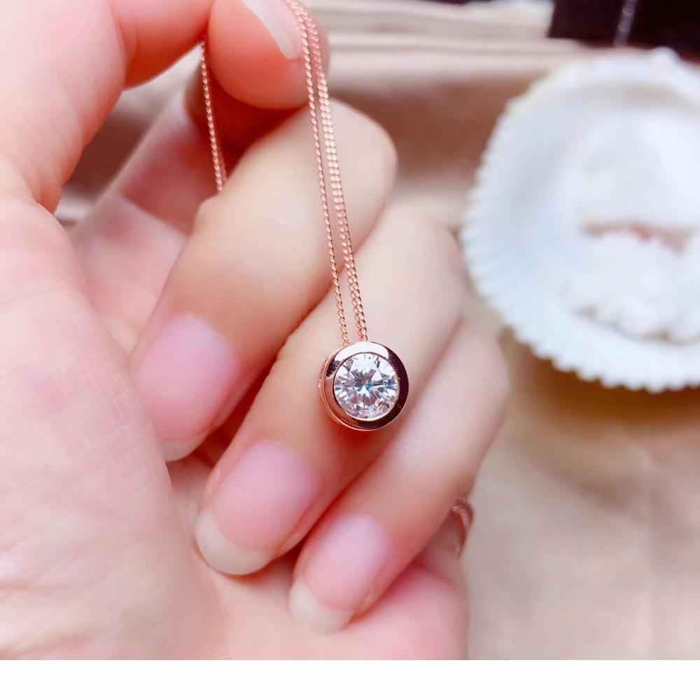 recomendamos: clássico crepitar pingente de pedra preciosa moissanite para colar À venda
