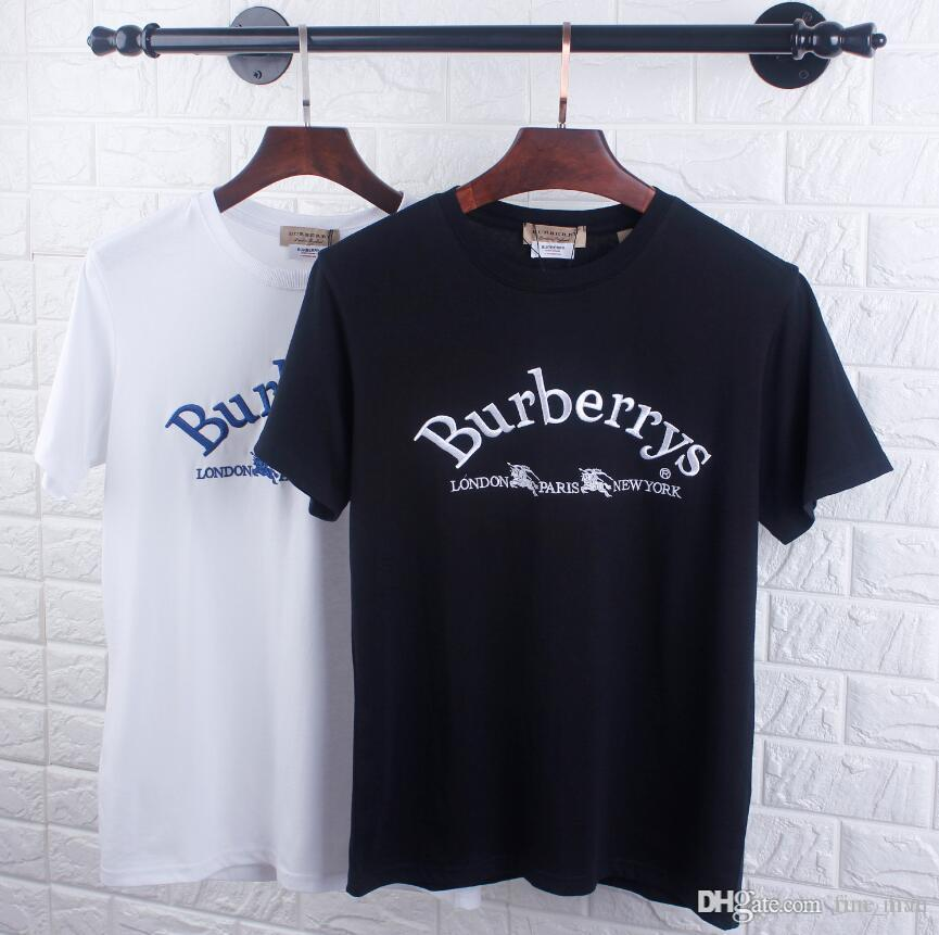 Marka Tshirt İçin Kadın Erkek t gömlek Lüks kısa Kol Gömlek moda unisex Tees Tasarım Kazak Casual Lady Tişört Üst Kalite q56