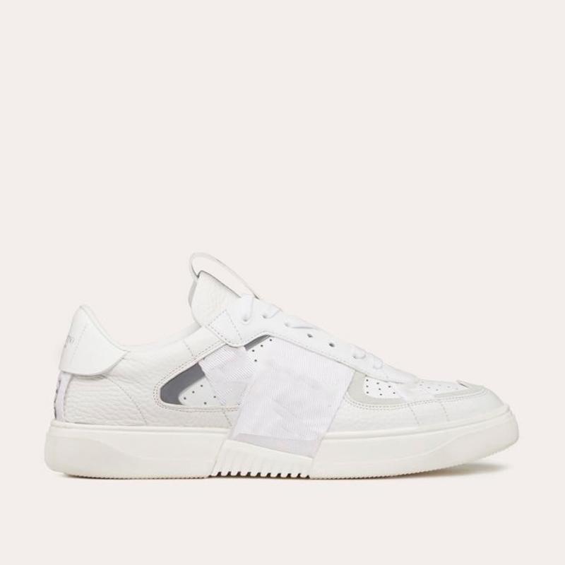 2020 Nouveau Mode Femmes Cuir Blanc Tennis Sneaker Mens confortable semelle épaisse lacent Casual Sport Mocassins de créateurs
