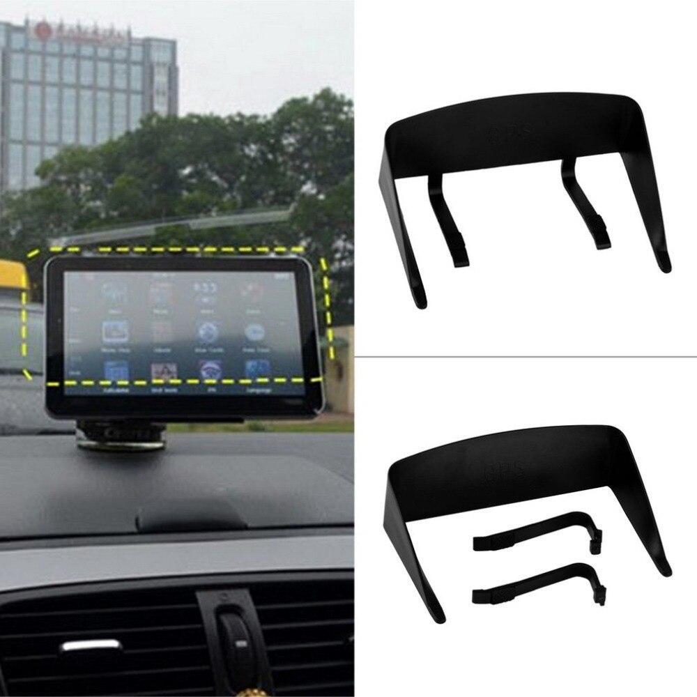 5 pulgadas de navegación GPS del coche de la sombrilla anti Accesorios partes Sun Shield GPS sol Paraguas navegador de coche Parasol del envío