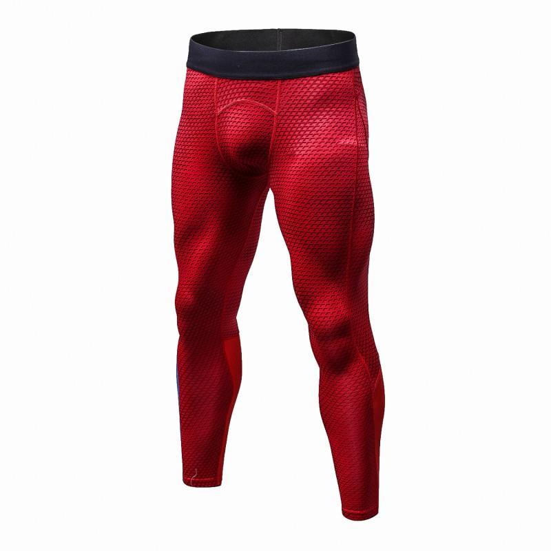 2020 Мужчины Фитнес Леггинсы Gym Workout Pants Высокая талия Упругие Quicking сухой Брюки спортивные гетры