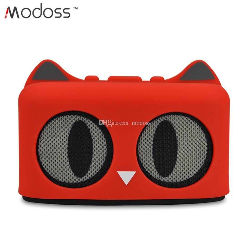Mini Bluetooth Cartoon Cat Wireless Speaker With Powerful Rich Room Filling Sound 3W Audio Driver Kitty cat ear wireless Sound Box Subwoofer