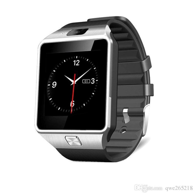 DZ09 애플 시계 안드로이드 smartwatch에 대 한 블루투스 스마트 시계 카메라 전화 다이얼 호출 대답으로 삼성 스마트 전화 GT08 U8 대답 005