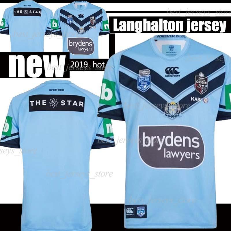 camiseta súper LNR para Estadio Lanholton Inicio de Rugby en 2019 jerseys montañeses camisas entrenar TAMAÑO: S-3XL
