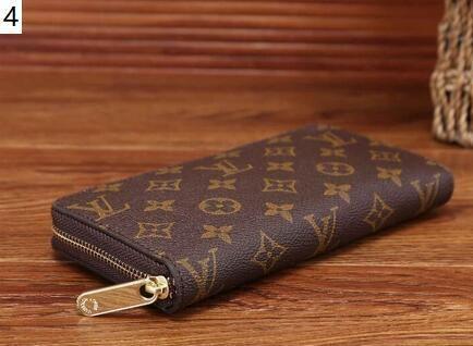 Novo estilo de moda bolsas de senhora único zíper barato carteiras longos bolsa das mulheres dos homens carteira cartão de sacos de bolso titular embreagem W5 7037