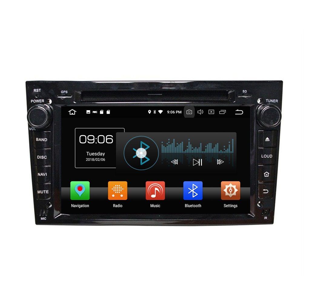 "4GB+64GB PX5 Android 8.0 Octa Core 2 din 7"" Car DVD Head Unit GPS for Opel Vectra Antara Zafira Corsa Meriva Astra Radio Bluetooth WIFI"