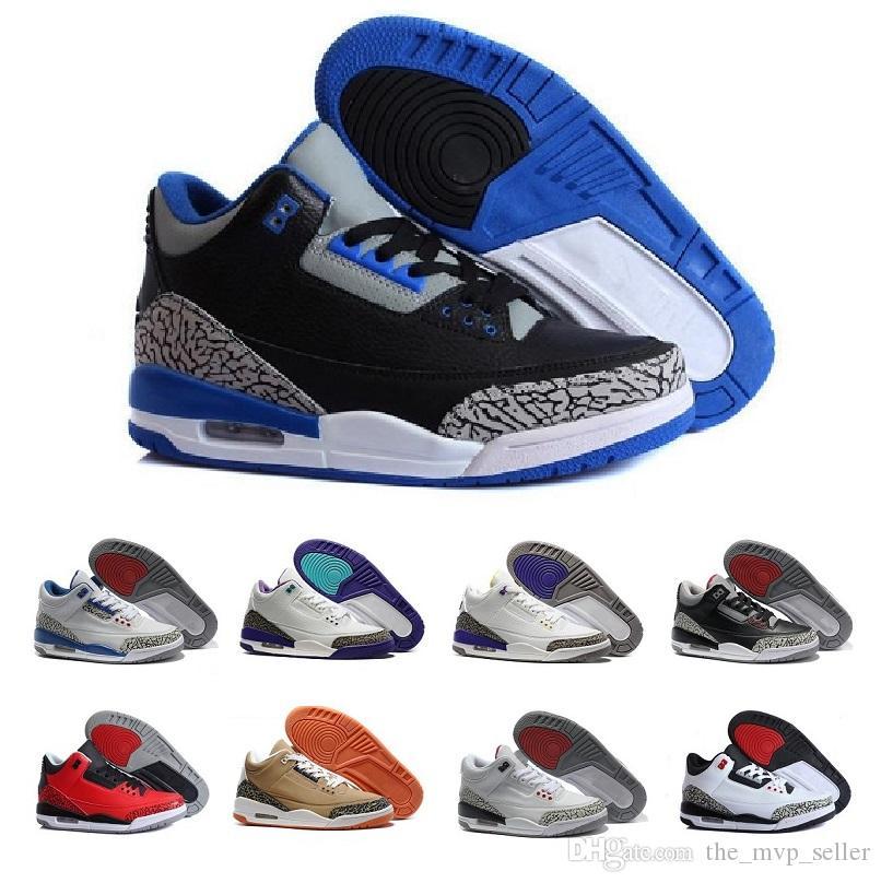 Cheap 3 3s Men Basketball Shoes OG True
