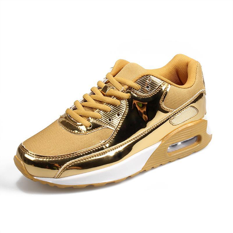 Tuhaojin zapatillas de deporte grandes parejas de tamaño brillante zapatillas zapatillas mujer deportiva para hombre zapatillas de deporte zapatillas de mujer deportiva