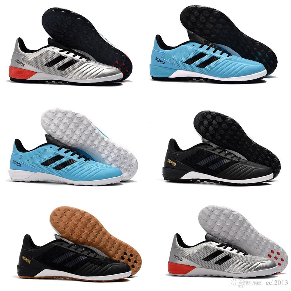 newest Mens Low Ankle Football Boots Archetic Predator 19.1 IC TF Soccer Cleats Predator 19.1 Pogba Indoor Turf Soccers Shoes