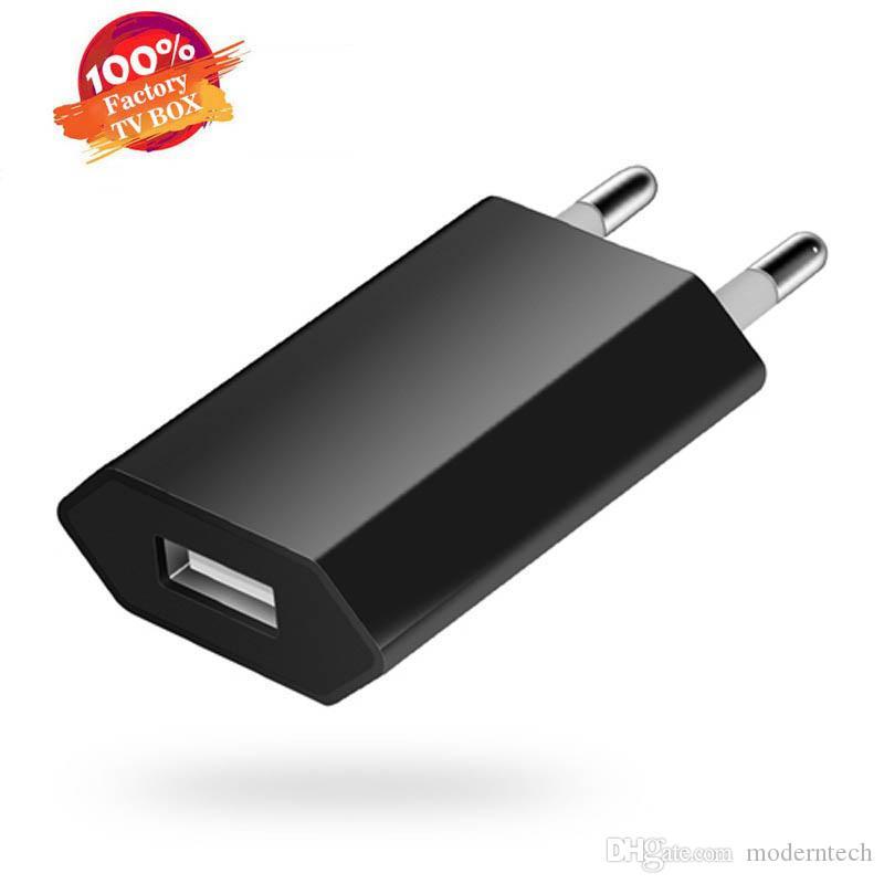 Cargador 5V 1000mAh Inicio enchufe de los EEUU de la UE USB cargador de pared Adaptador de corriente para el iphone 11 X 6 6S Plus Samsung S10 S6 C-SC