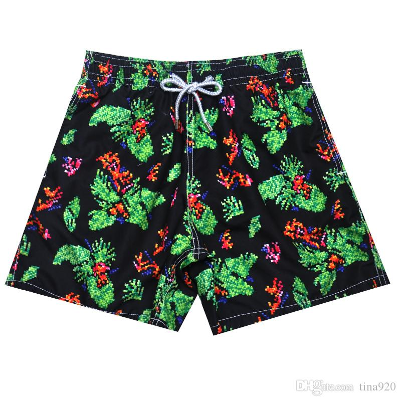 New Summer Turtle Printed Brand Men Beach Shorts Board Boxer Trunks Shorts Bermda Casual Bottoms Fitness Quick Drying Active Shorts