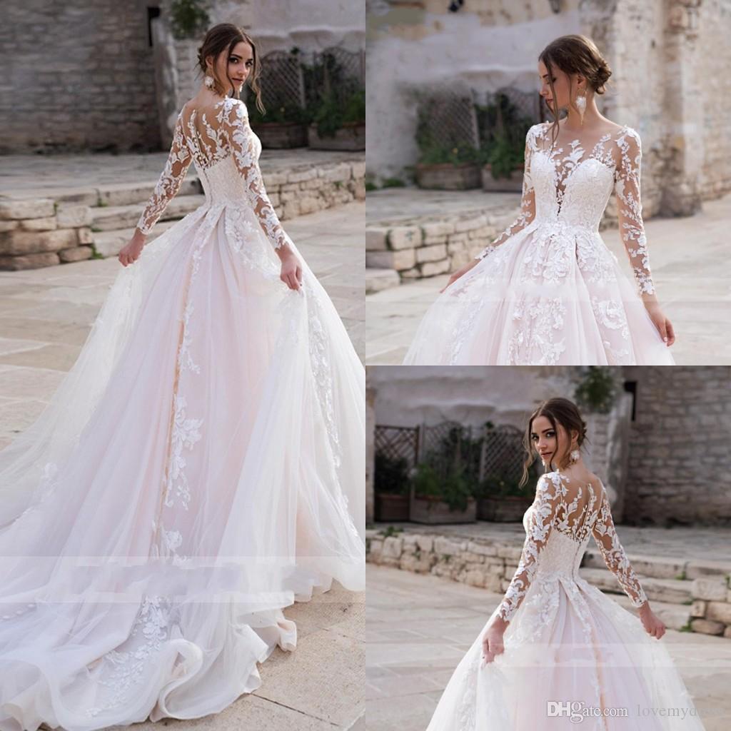 Long Sleeve Wedding Dresses 2020