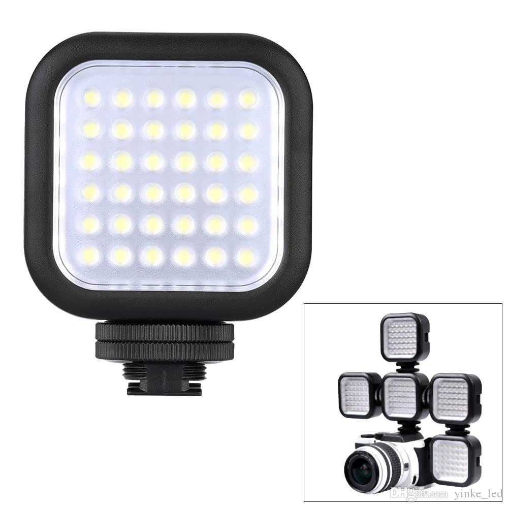 36 Fotocamera Led Video Light Photo Studio Luci sulla fotocamera Scarpa calda per la videocamera DSLR Camcorder Mini DVR