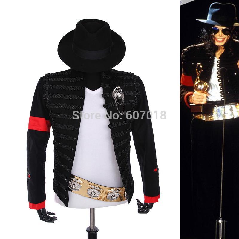 Rare Punk Vestido Formal Estilo Clasico De Inglaterra Mj Michael Jackson Traje Chaqueta Cinturon Sombrero Para Fanaticos Imitador Mejor Regalo 2021 Desde Duanhu 101 78 Dhgate Movil