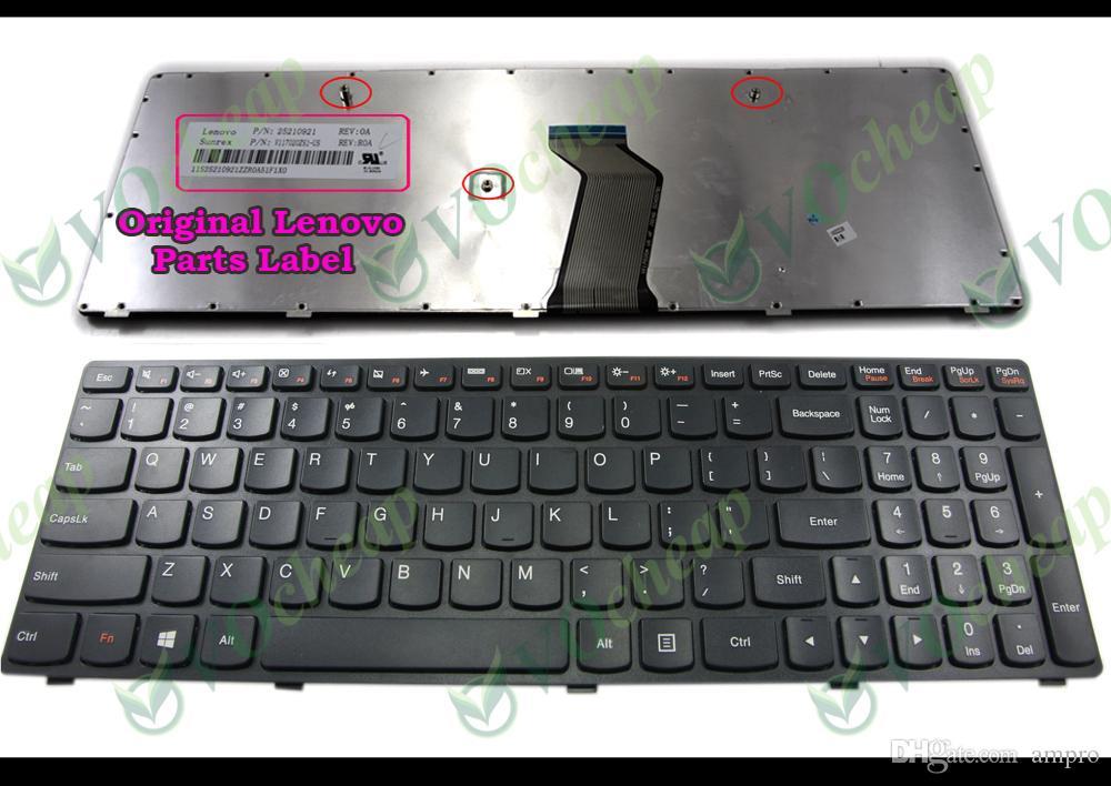 Nouveau clavier et original pour ordinateur portable d'ordinateur portable pour Lenovo G500 G505 G505A G510 G700 G710 G700A G500AM G700AT G500AM-ISE G500AM-ITH Version US