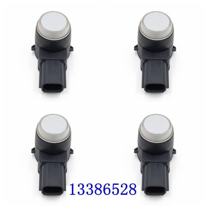 4pcs NOVO PDC sensor de estacionamento 13386528 0263013704 Car Bumper reverso Assist Aid Radar para G M de alta qualidade