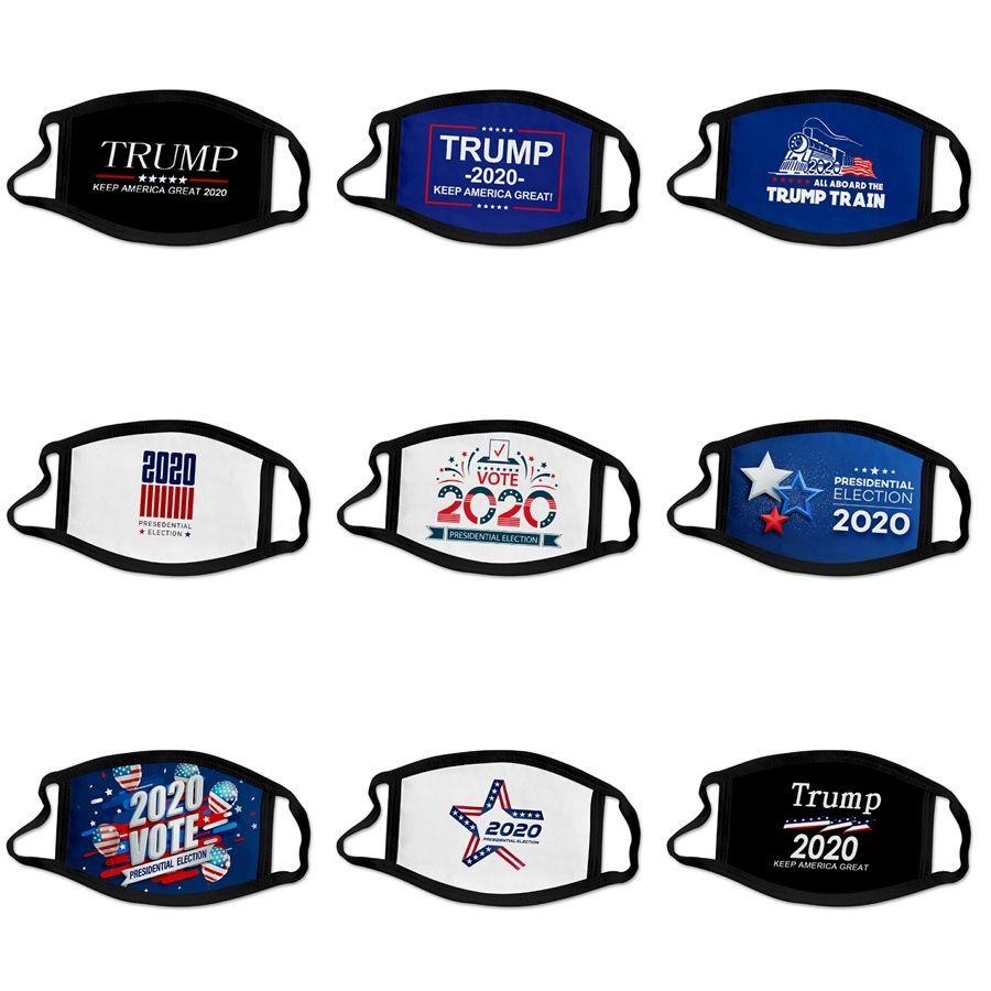 Máscaras I2Qo3 envio Elastic face da tela Máscara Designer Trump laço 3 Ear respirável e confortável para bloquear Epidemia Poeira Pro # 262