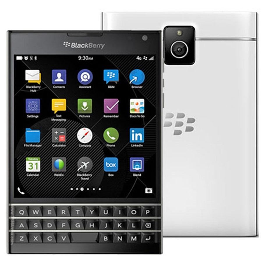 Refurbished Original Blackberry Passport Q30 4.5 inch Quad Core 3GB RAM 32GB ROM 13MP QWERTY Keyboard Unlocked 4G LTE Smart Phone DHL 5pcs