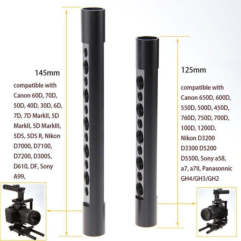 CAMVATE Aluminum DSLR Cage Top Handle Grip Camera Stabilizer Rig Tripod Mount Plate For Canon Nikon Sony Panasonnic 1229 (4)