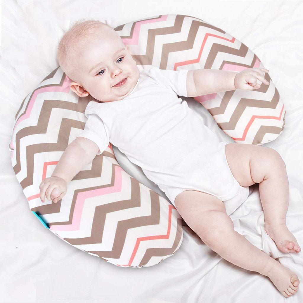 Nursing Newborn Infant Baby Soft Breastfeeding Pillow Cover Nursing Slipcover Baby Cushion Infant Feeding Pillow Baby Care