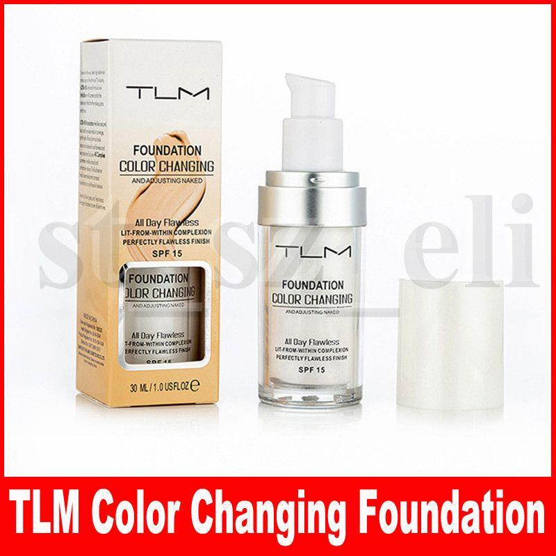 TLM безупречный цвет изменение основы теплый тон кожи цвет лица макияж база ню лица увлажняющая жидкость крышка корректор