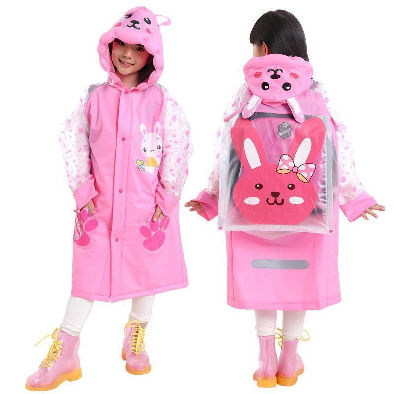 لطيف الكرتون معطف واق من المطر للأطفال بوي بنات ملابس ضد المطر المعطف للماء راينسويت أطفال في الهواء الطلق معطف المطر Yt018 ZBZuW