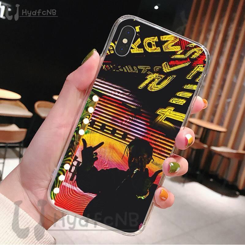 2020 Travis Scott Astroworld TPU silicone suave Phone Case Capa para iPhone 11 pro XS MAX 8 7 6 6S Plus X 5 5S SE XR cobrir atacado