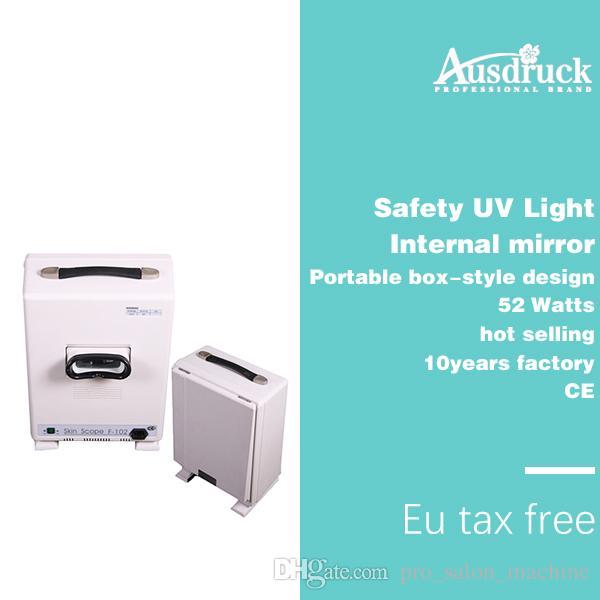 Fast shipping Skin Scanner Diagnosis Analyzer Facial Skin Scope PORTABLE Analyzer Portable boxtype beauty machine