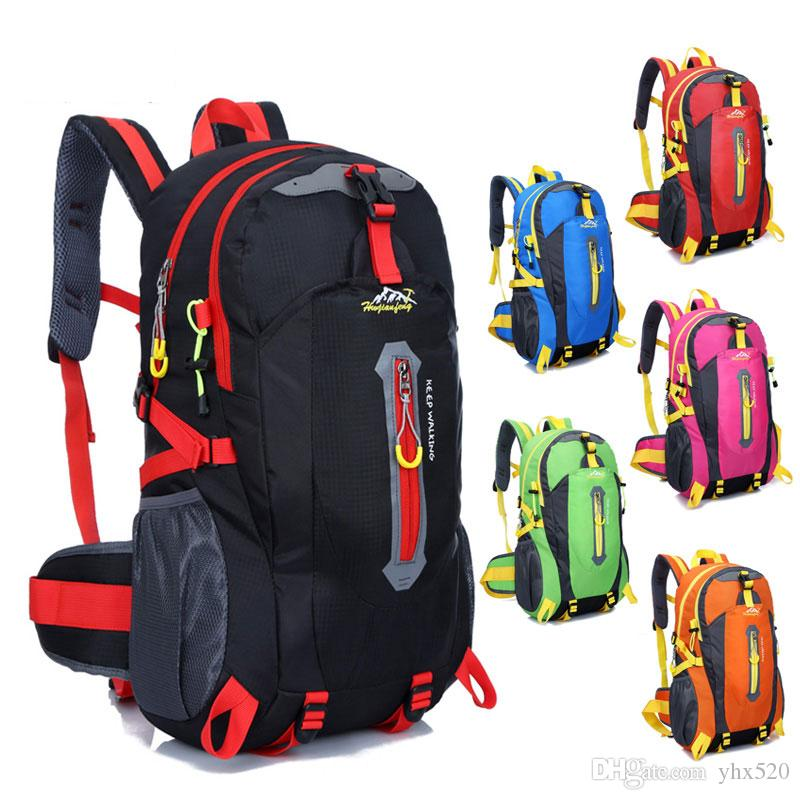 New Style Outdoor Sports Backpack 40L Mountaineering Climbing Trekking Bag Hiking Camping Backpack Travel Backpack Waterproof