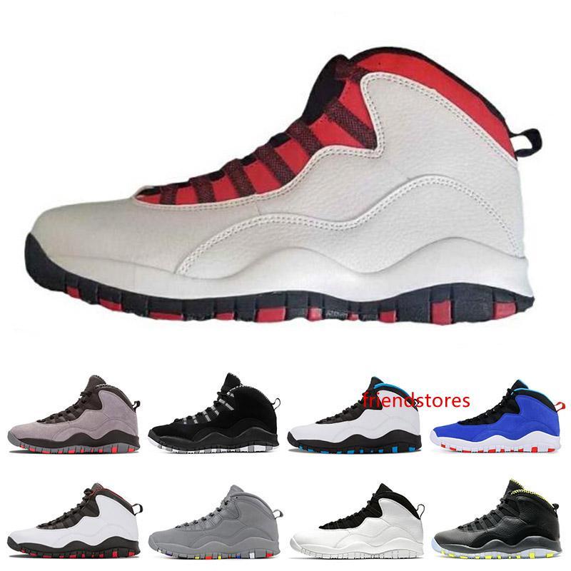 Классический Тинкер цемент Уэстбрук 10 мужская баскетбольная обувь я вернулся Чикаго Бобкэтс гонщик синий 10s мужские кроссовки спортивные кроссовки размер 7-13