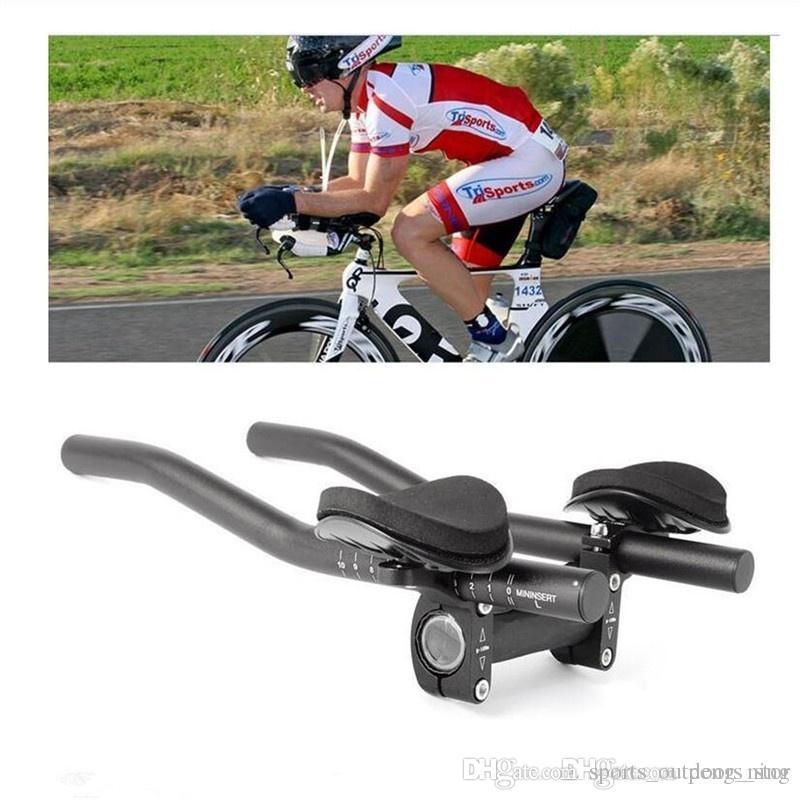 Bike Road Mountain Bike Cycling Race Bicycle MTB Triathlon Handlebar Rest Handle Bar Separated 2pcs Pipe Rest End