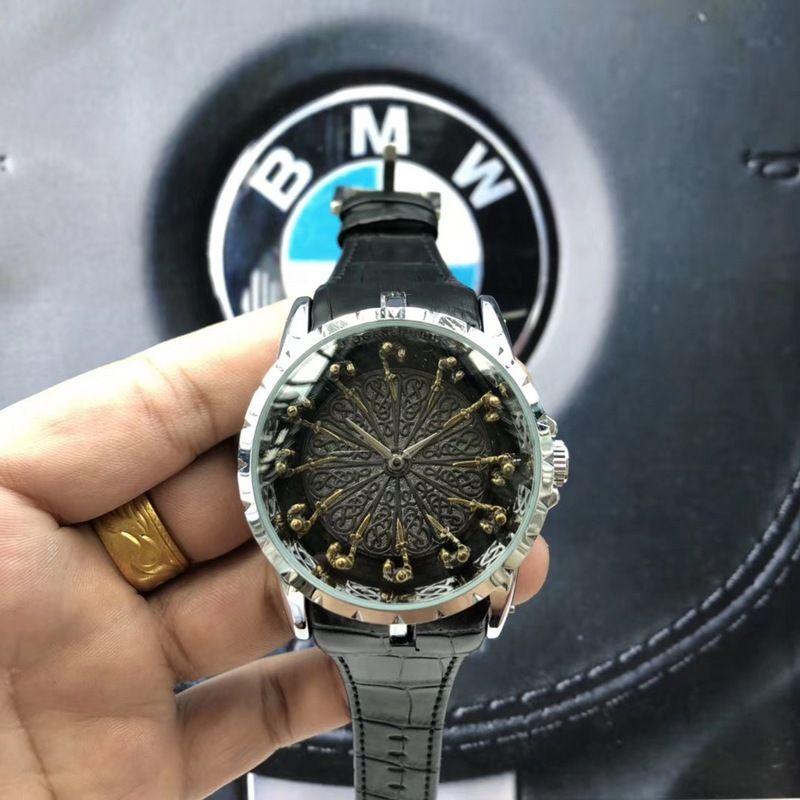 Movimento de negócios relógios de Quartzo de Luxo homens Modernos Relógio de Pulso feminino Designer Novo relógio das mulheres Presente Relógio Desgaste resistente Atacado
