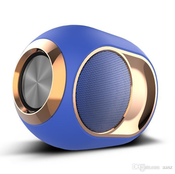 X6 블루투스 샤워 스피커 휴대용 스피커 무선 스테레오 음악 서라운드 슈퍼베이스 스피커 하이파이 사운드 지원 TF 카드 1200 MAH