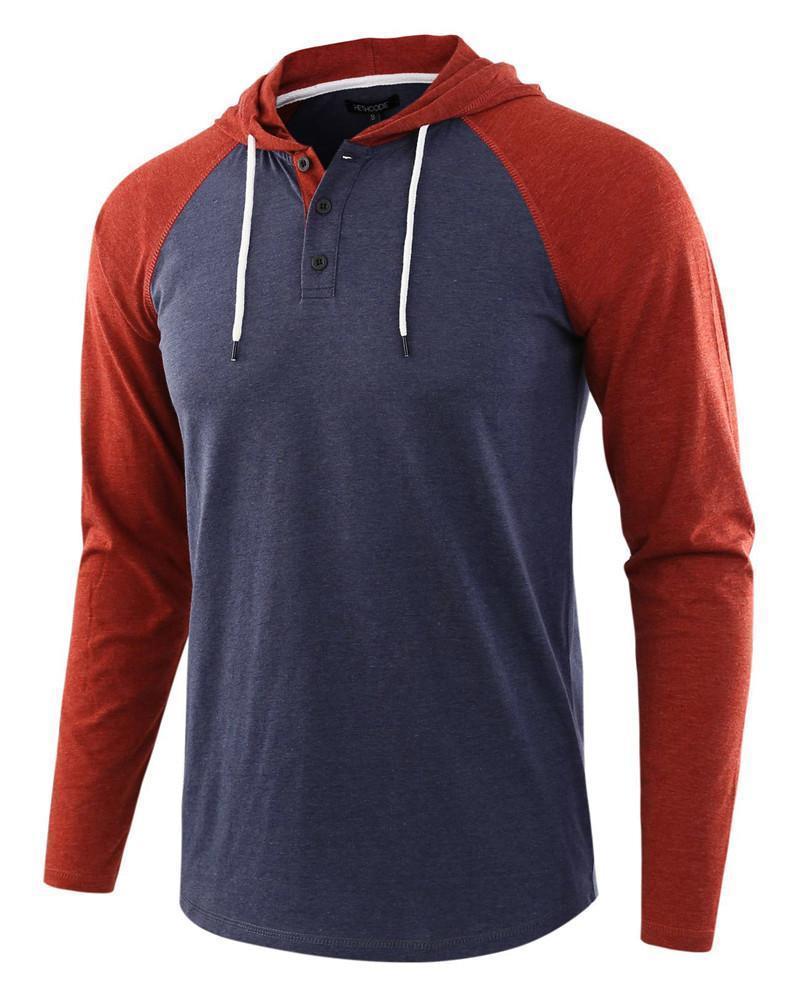Mens New Mode Chemises à manches longues Autum Casual Top T-shirts Hommes Sweats à capuche Sweats Hommes Mode Hommes Vêtements Streetwear
