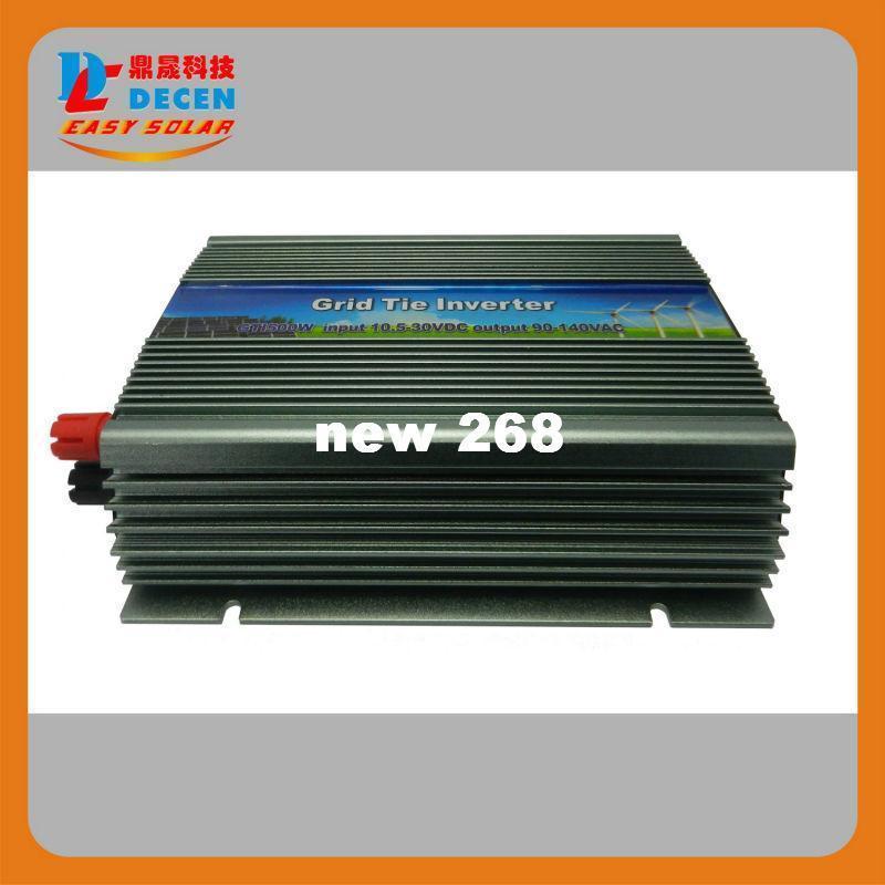 Freeshipping DECEN@ 10.5-30Vdc 500W Pure Sine Wave Solar Grid Tier Inverter Output 190-260Vac power inverter For Home Solar System