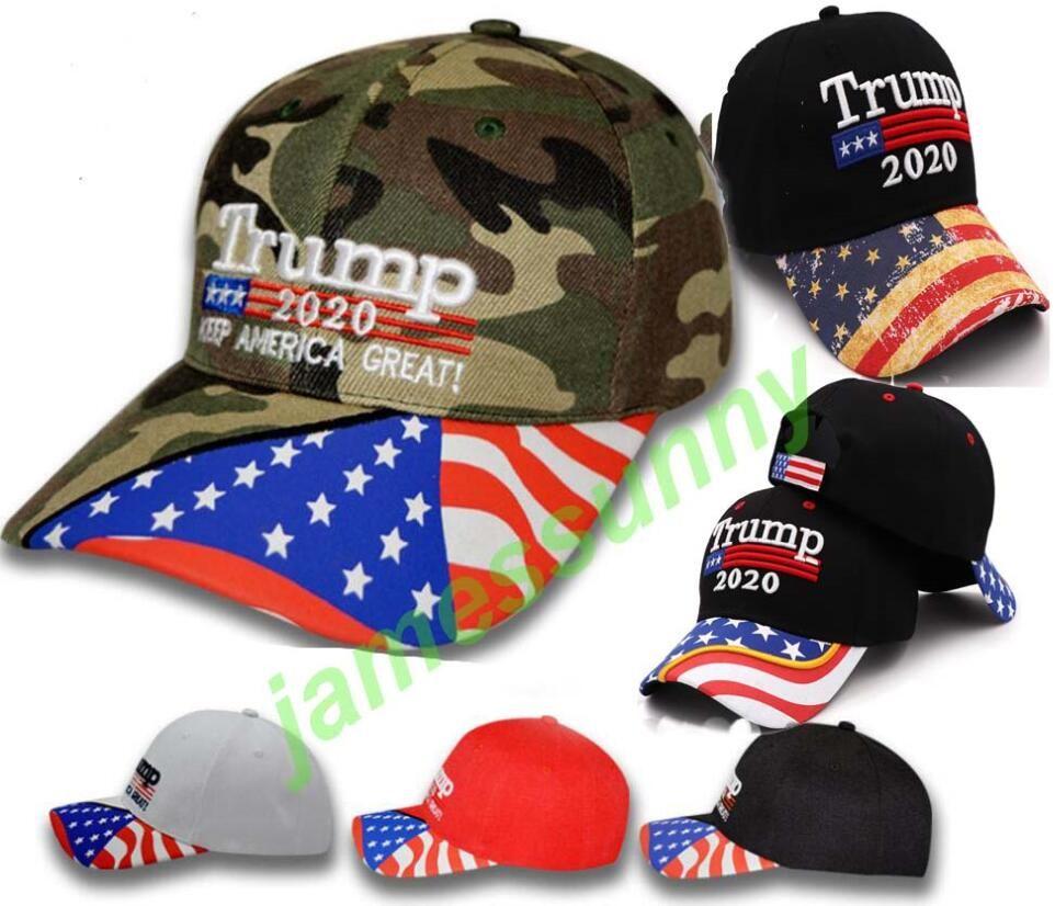 6 types de drapeau américain aigle Donald Trump 2020 républicain Snapback Sports Chapeaux Casquettes de baseball USA Drapeau Adultes Hommes Femmes Sport Chapeaux
