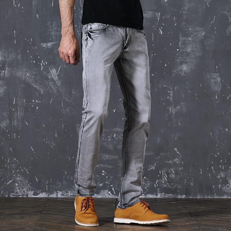 Classic Retro Nostalgia Straight Denim Jeans Men Plus Size 28-38 Men Long Pants Trousers Loose comfortable Casual Jeans