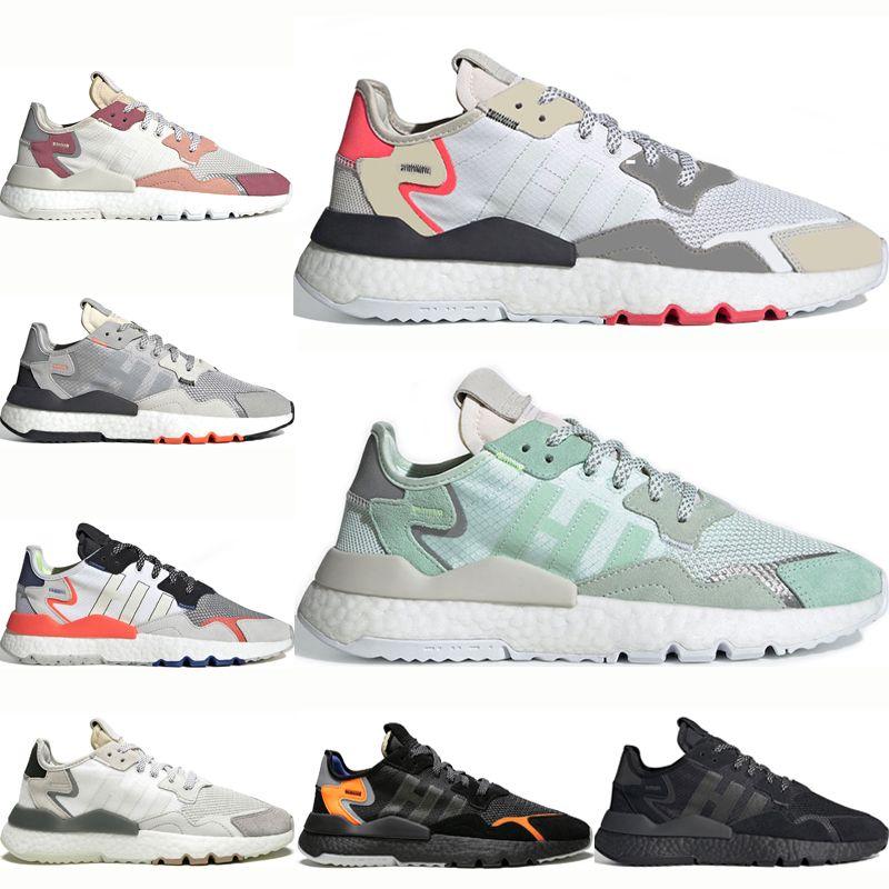 Compre Adidas Nite Jogger Boost Zapatillas Reflectantes Para Hombre New  Nite Jogger 3M Diseñador Mujer Triple Negro Zapatillas De Deporte Blanco  Rosa ...