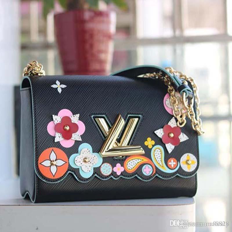 К 2020 году новые роскошные портфель дизайнер из натуральной кожи и холст роскошные мода дизайнер сумочку мода печати M50326 А123