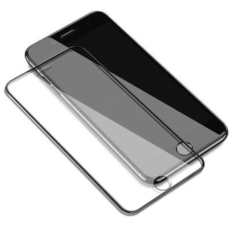 Verre plein écran pour iPhone 11 Trempé / 11Pro / 11 ProMax SE2 (2020) X / X XR XSMax 7P / 8P 7/8 Anti-Scrath écran HD Protector Couleur Noir
